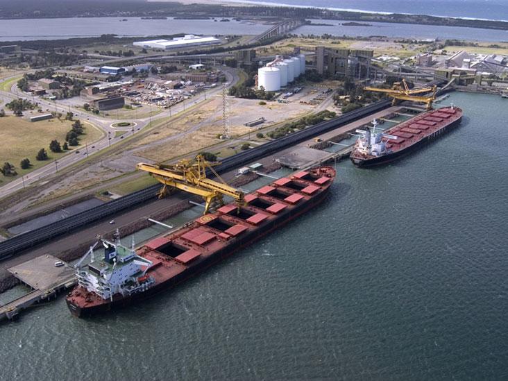 Newcastle port. Photo: Liddell Coal
