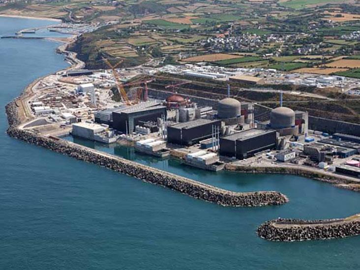 Photo: L'EPR de Flamanville, office de tourisme de Cherbourg.
