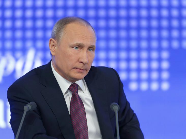 Russian president Vladimir Putin. Photo: Shutterstock.com