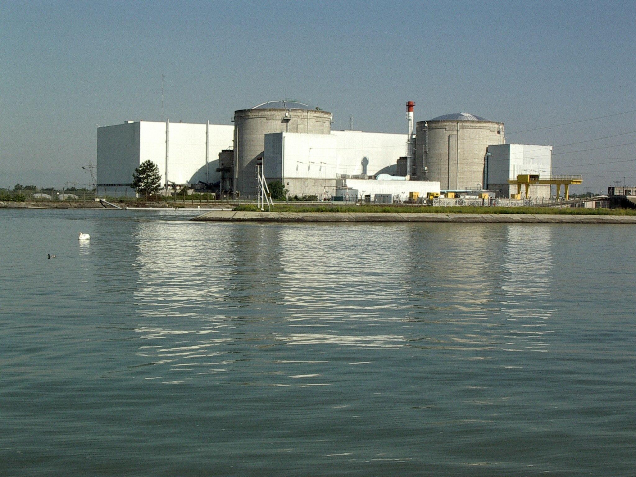 France's Fessenheim nuclear plant. Photo: Wikipedia